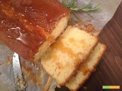 Plumcake al miele e rosmarino
