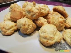 Biscotti al limone e cioccolato bianco