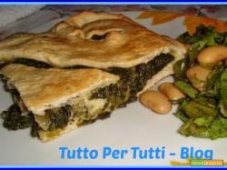 CUCINA - TORTE SALATE & CO - CALZONE DI SPINACI & RICOTTA FORTE