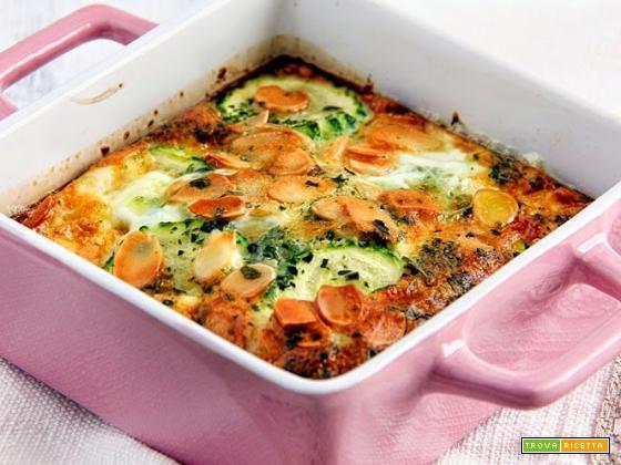 clafoutis di zucchine per la rubrica cuciniamo con quello che c'è