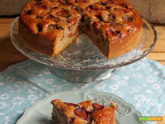 Torta rustica con farina di grano saraceno e ramassin