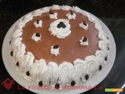 Torta glassata al caffè