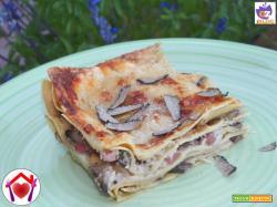 Lasagne con porcini e tartufo