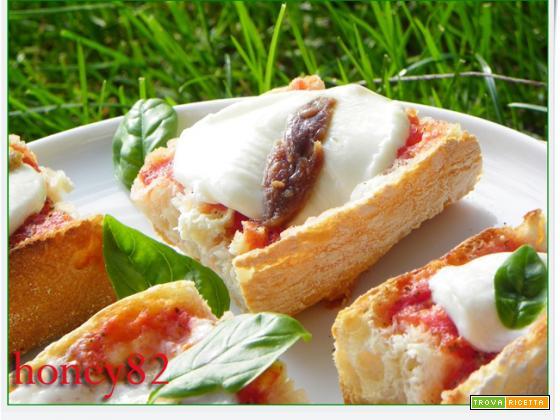 BRUSCHETTE PIZZA
