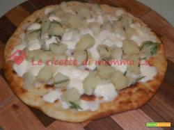 Pizza bianca alle patate