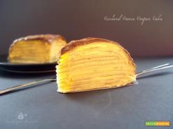 Custard Creme Crepes Cake
