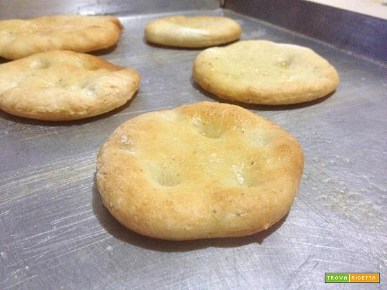 Schiacciatine senza glutine