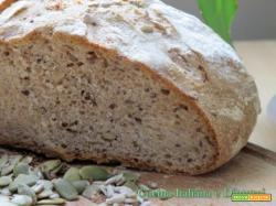 Pane integrale ricetta con pasta madre