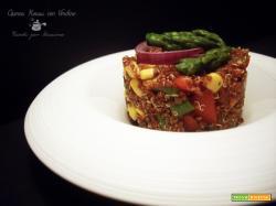 Quinoa Rossa con Verdure