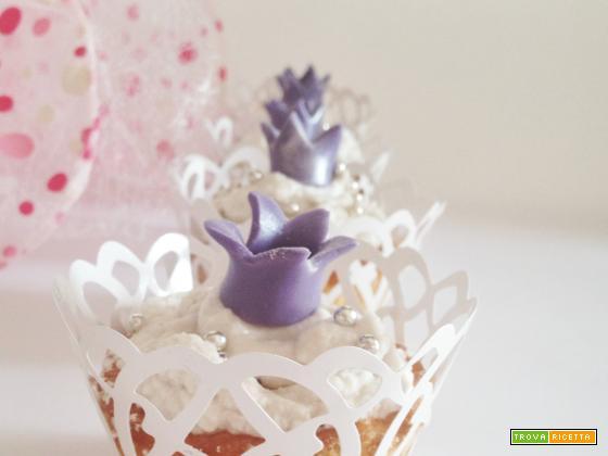 Cupcakes alle mele e buon compleanno alla mia principessa