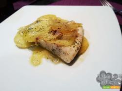 Persico in crosta di patate