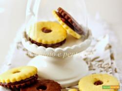 i biscotti di riso bicolori di Milena, dedicati a lei