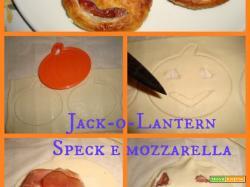 JACK-o-LANTERN SPECK E MOZZARELLA - speciale Halloween