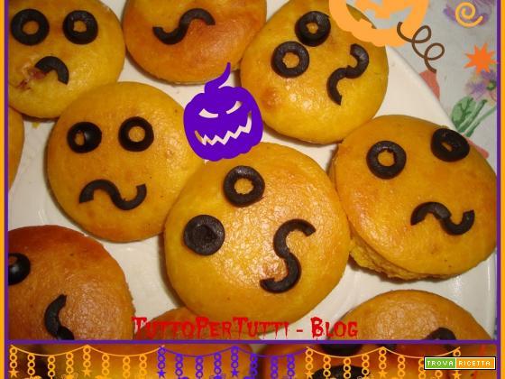ZUCCHETTE DI CAROTA RIPIENE - speciale Halloween