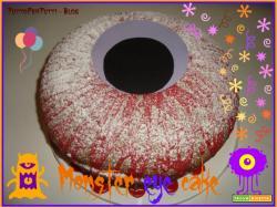 MONSTER EYE CAKE - Special Halloween