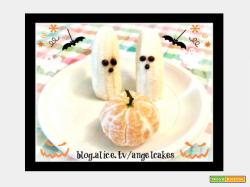 Mini zucche e fantasmini di Halloween