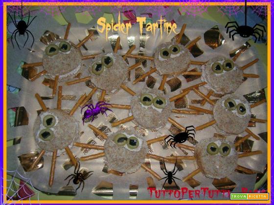SPIDER TARTINE - Speciale Halloween