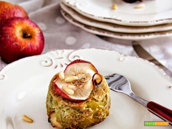 timballi di pasta alla verza e mela annurca