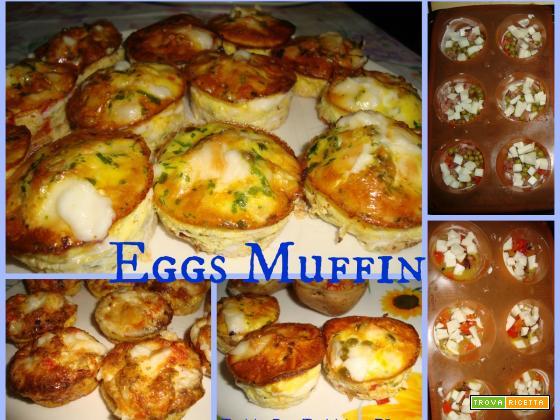 EGGS MUFFIN - Ricetta suggerita da Diana G.G. New Jersey!