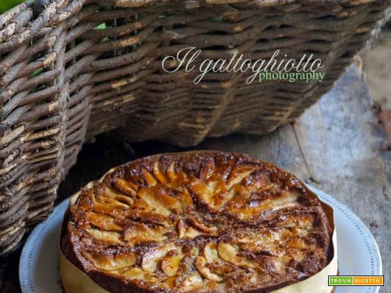 Torta di mele con farina di grano saraceno e cannella (gluten free)