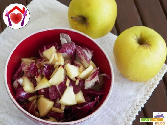 Radicchio e mele