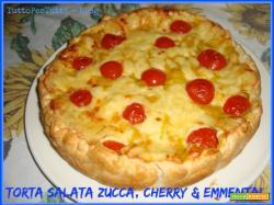 TORTA SALATA DI ZUCCA - CHERRY & EMMENTAL passo a passo