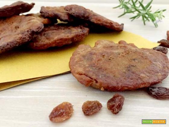 Frittelle con farina di castagne