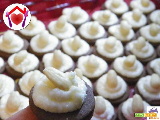 Mini cheesecake senza glutine