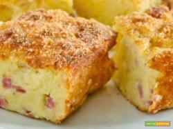 Il gateau di patate prosciutto e mozzarella facile facile