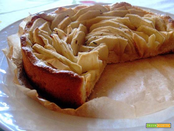 Ricetta antispreco: torta di mele con pane avanzato