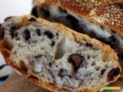Fare in casa il pane alle olive