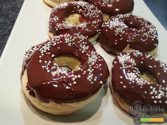 Donut al forno con lievito madre