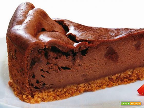 Buonissima torta al cioccolato che non si deve cuocere