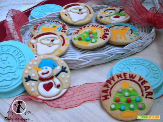 Biscotti decorati per Natale