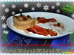 TIMBALLO DI RISO CON CANNELLA, MANDORLE E FONTINA D'AOSTA - Ai fornelli con Roby - Speciale Natale
