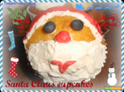 SANTA CLAUS CUPCAKES - Speciale Natale