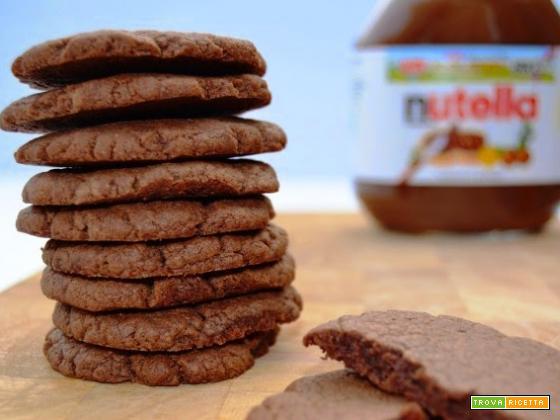 Biscotti alla Nutella pronti in 15 minuti