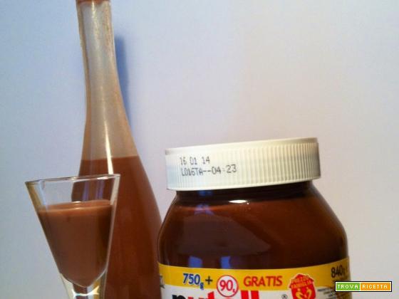 Nutellino, il liquore alla Nutella fatto in casa