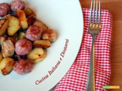 Padellata di salsicce e patate