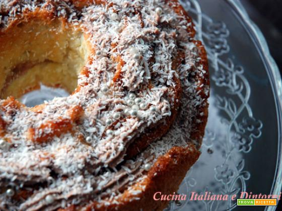 Angel cake natalizia