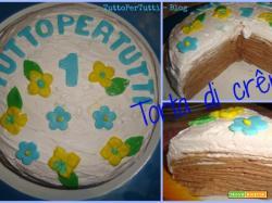 TORTA DI CRÊPES - Happy Birthday!