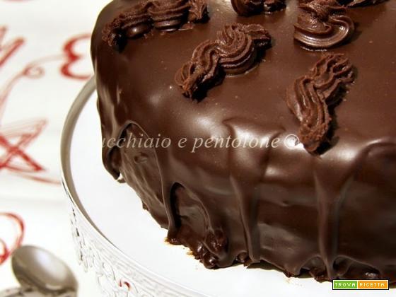 torta triplo cioccolato