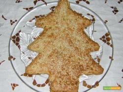 Torta salata albero di Natale