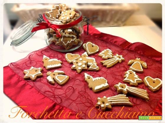 Biscotti speziati svedesi tipo Pepparkakor