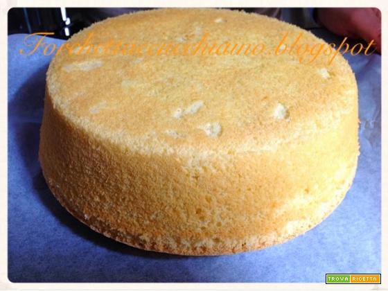 Torta Chiffon Cake ricetta base