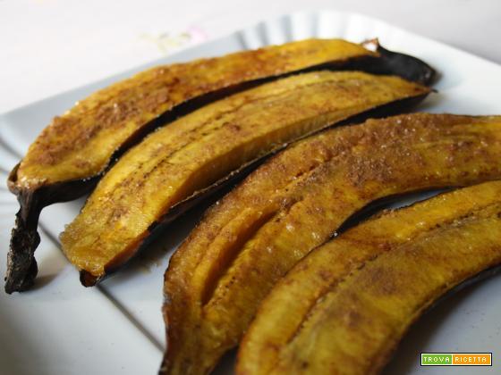 Banana arrosto (Banana da terra assada)