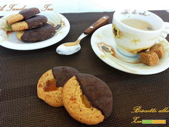 Biscotti allo Zenzero con Glassa di Cioccolato