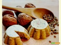 Veg-Formaggio affumicato ai semi di canapa e noci