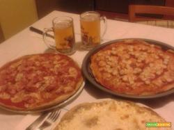 Bimby, Pizza allo Stracchino, Pizza al Prosciutto e Pizza al Surimi