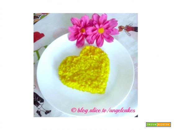 Cuor di risotto allo zafferano